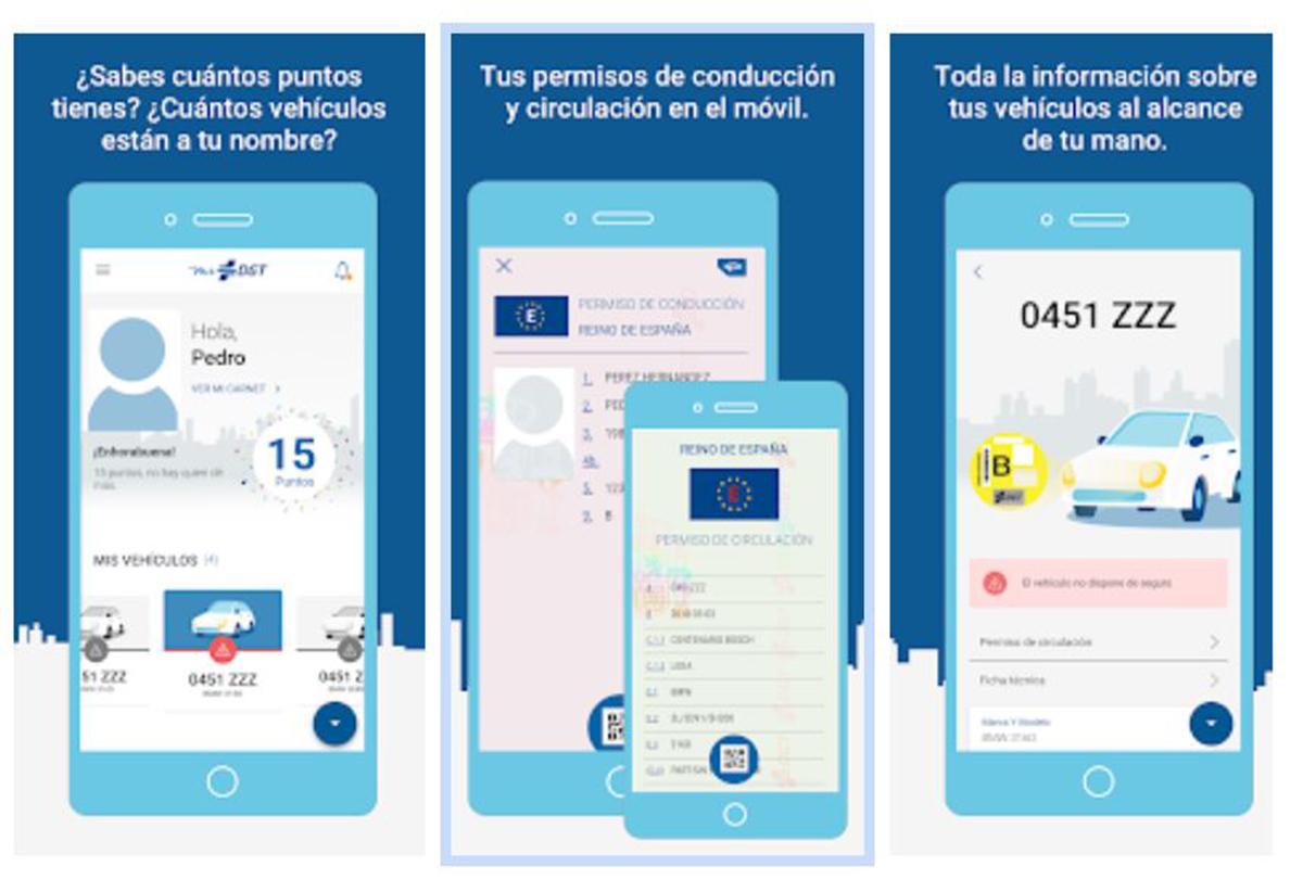 Mi DGT permite tener el permiso de conducir en el smartphone