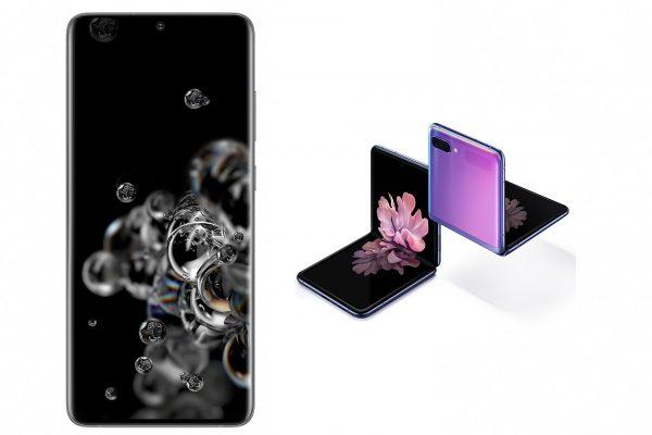 Precios y disponibilidad de  Galaxy S20 y Z Flip