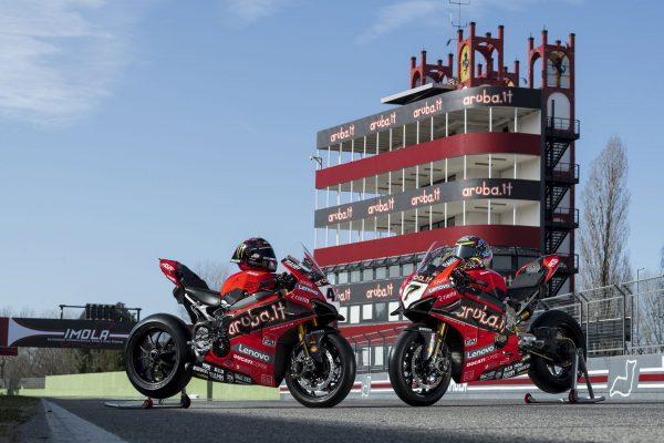 Lenovo y Aruba.it patrocinarán el Ducati 2020 Superbike