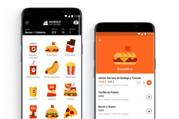 App del VCF para comprar comida y bebida desde la butaca
