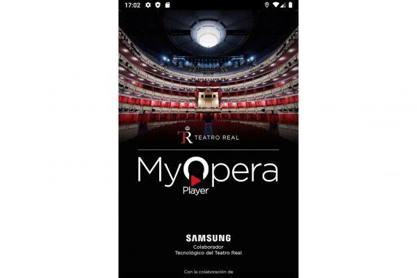 El Teatro Real presenta la aplicación My Opera Player