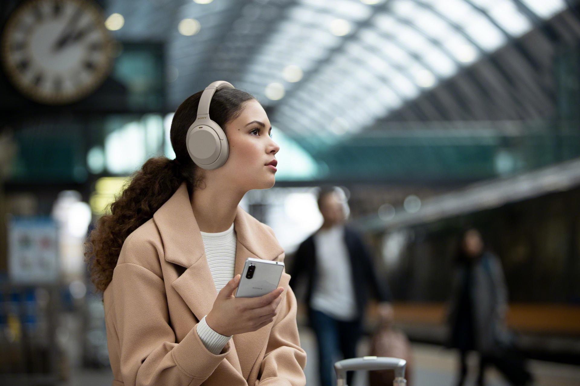 Sony anuncia los auriculares inalámbricos WH-1000XM4