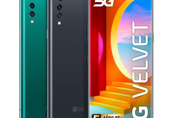 LG Velvet 5G añade un nuevo color a su gama