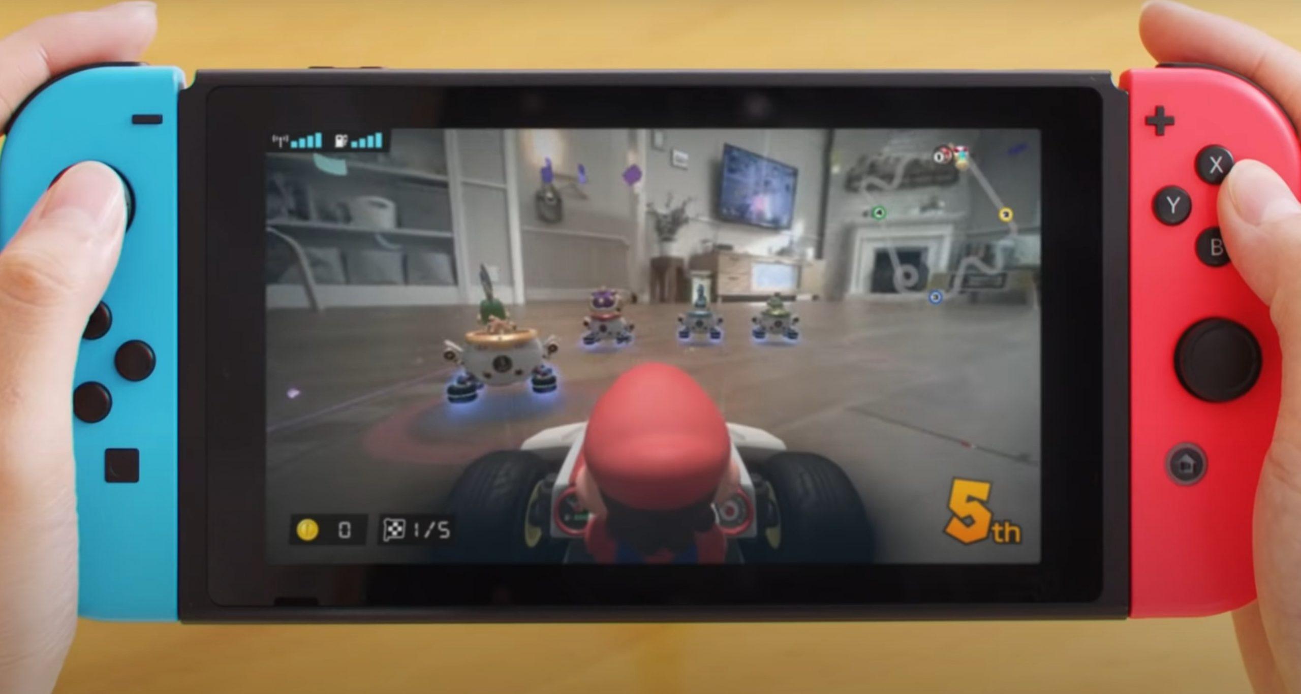 Mario Kart Live, un circuito real directamente en nuestra casa