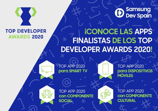 Los premios Samsung Dev Spain ya tienen Apps finalistas