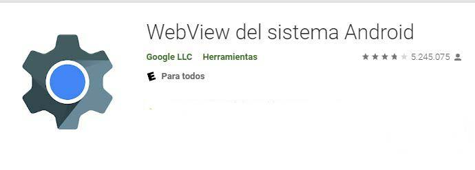 Webview de google provoca cierre de apps. Esta es la solución